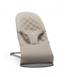 Lehátko Babybjorn Bouncer Bliss  Sand Grey cotton