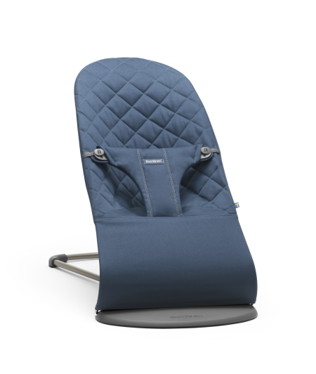 Lehátko Babybjorn Bouncer Bliss  Midnight Blue  cotton