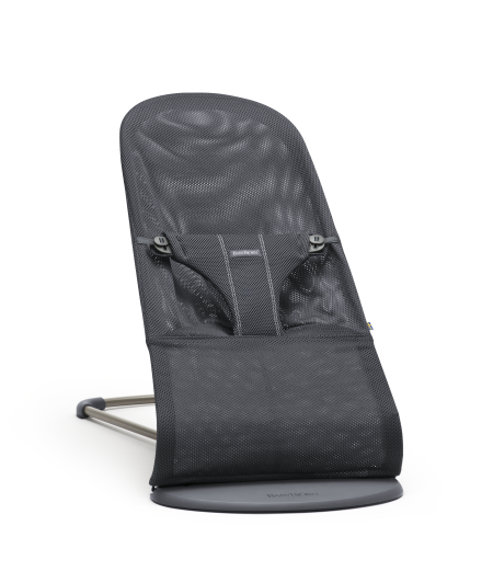 Lehátko Babybjorn Bouncer Bliss Anthracite Mesh
