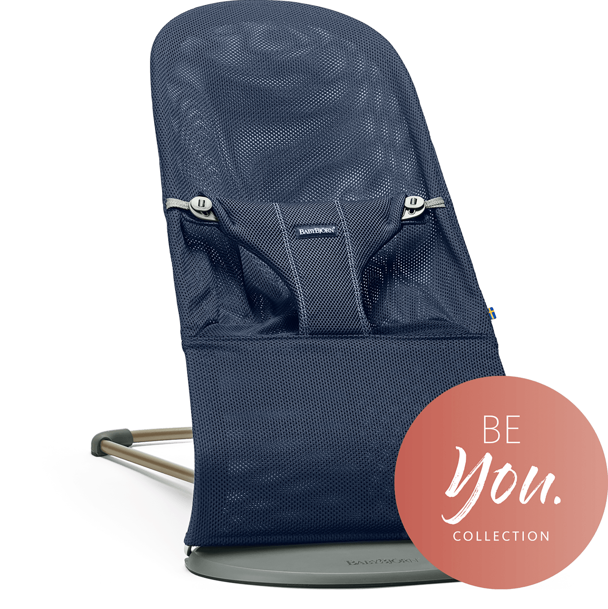 Lehátko Babybjorn Bouncer Bliss Navy blue Mesh kolekce BE YOU