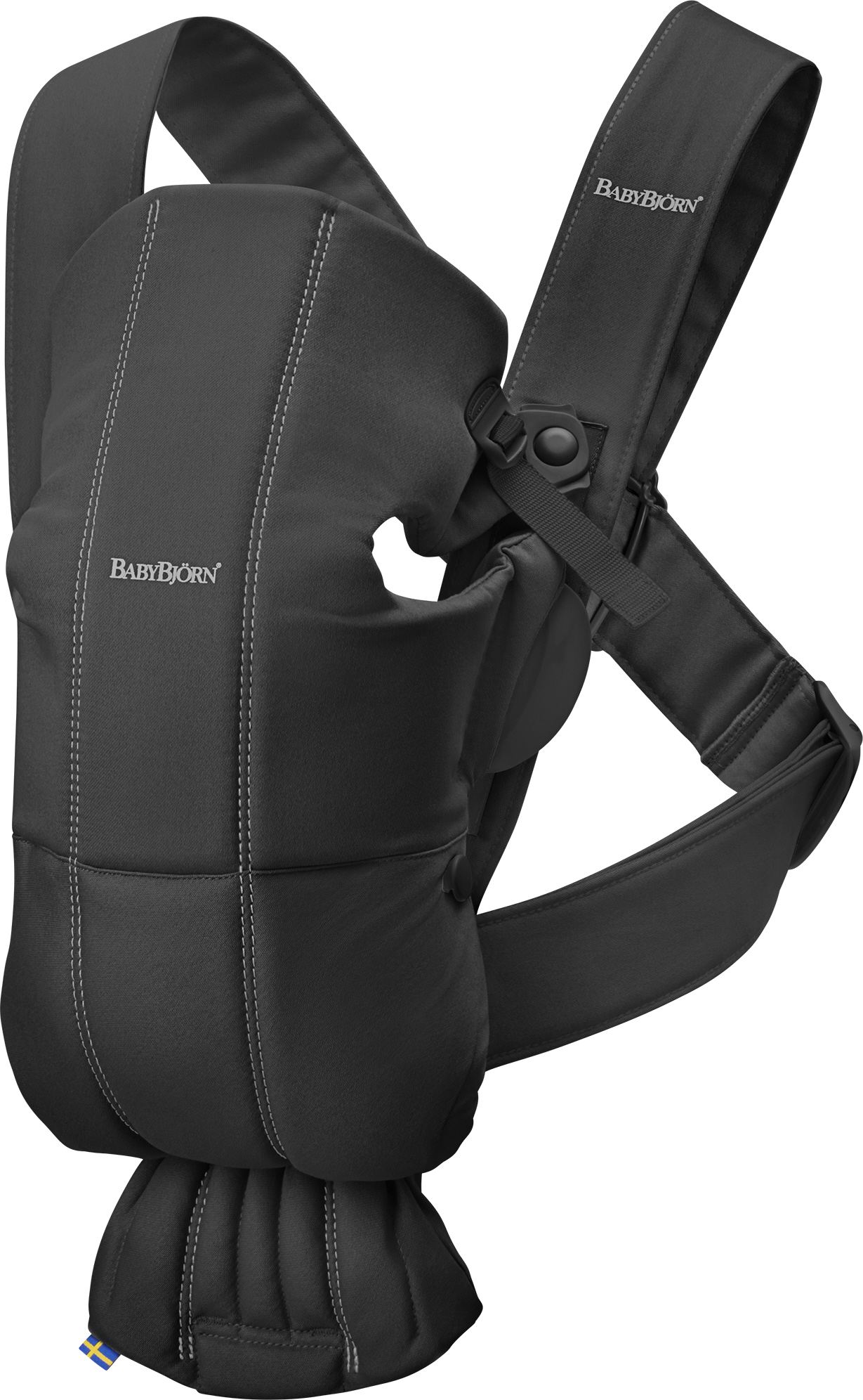 Babybjorn nosítko MINI Black cotton