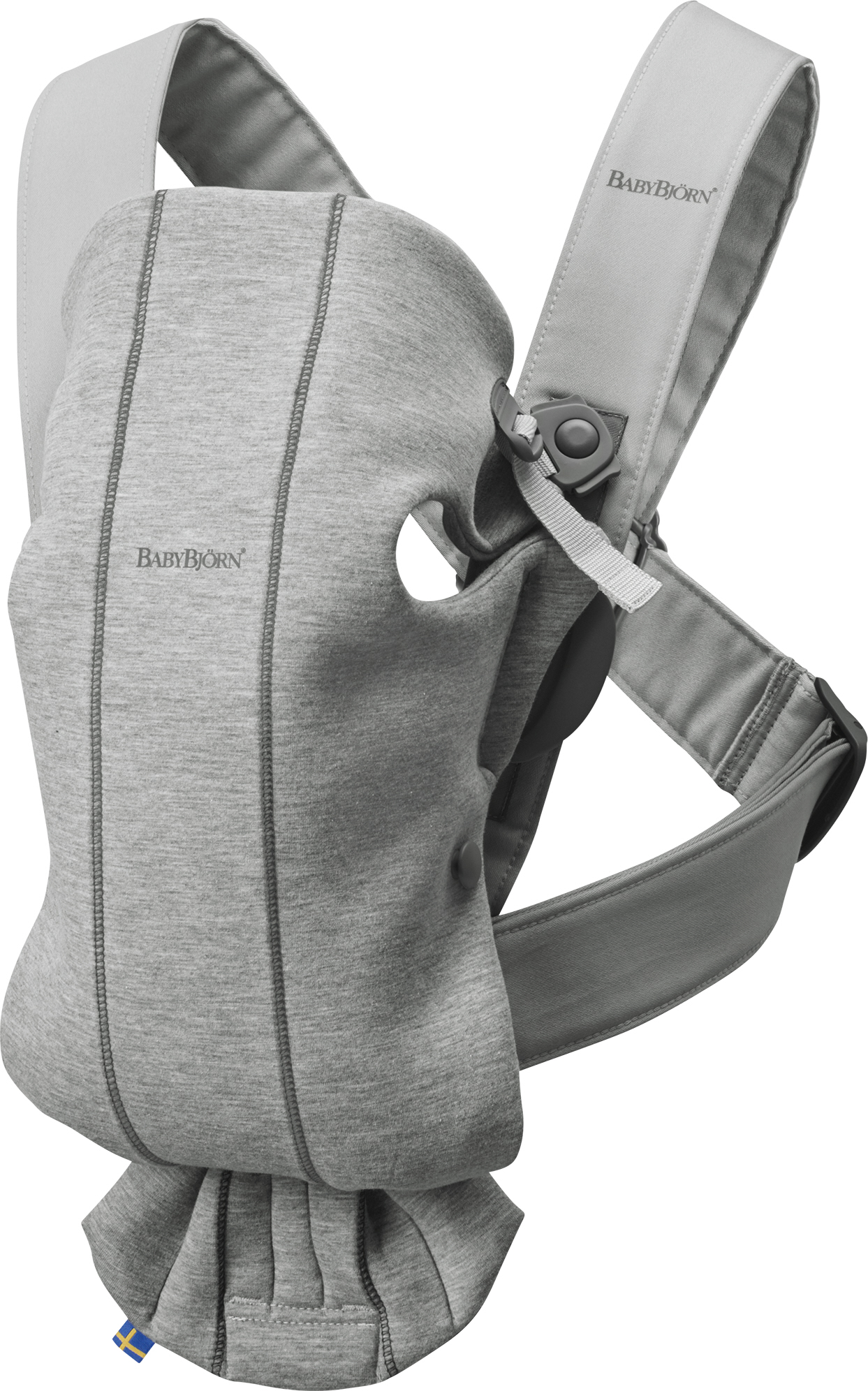 Babybjorn nosítko MINI Light Grey 3D Jersey