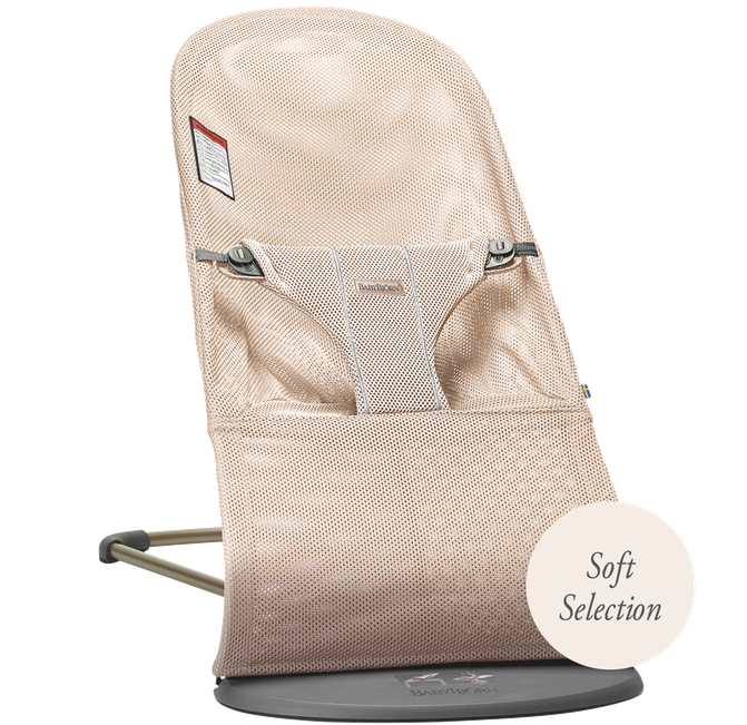 Lehátko Babybjorn Bouncer Bliss Pearly Pink Mesh SOFT Collection
