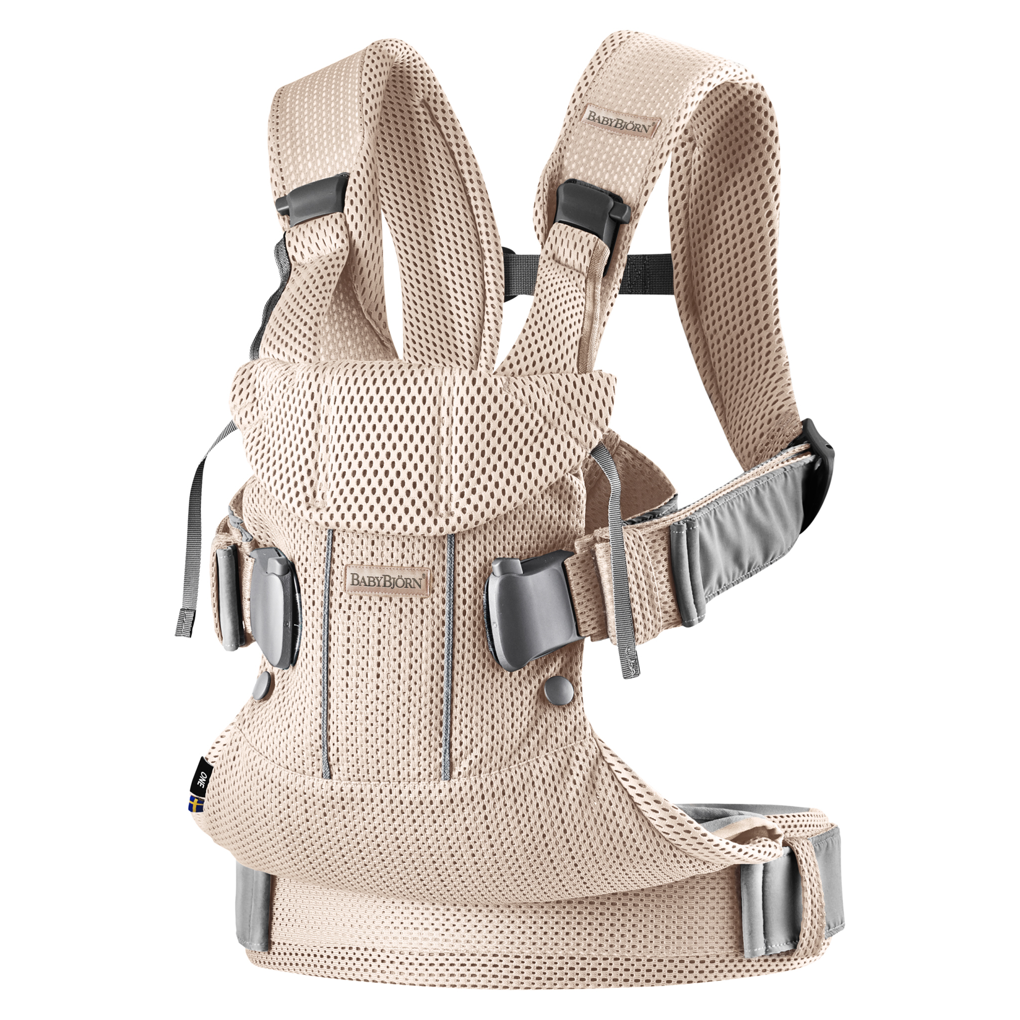 Ergonomické nosítko Babybjorn ONE Pearly Pink 3D Mesh 2018
