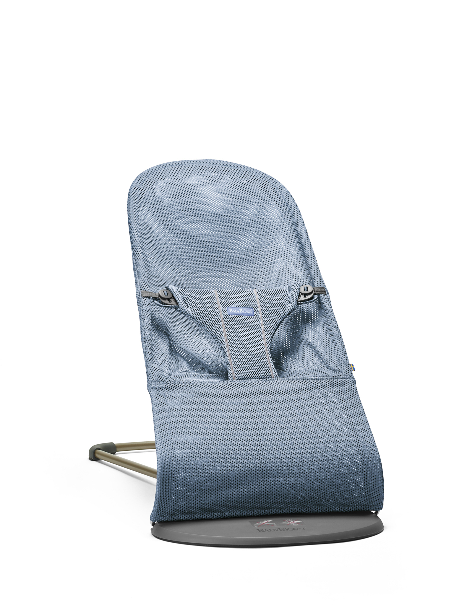 Lehátko Babybjorn Bouncer Bliss Slate Blue Mesh