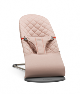 Lehátko Babybjorn Bouncer Bliss Old Rose cotton