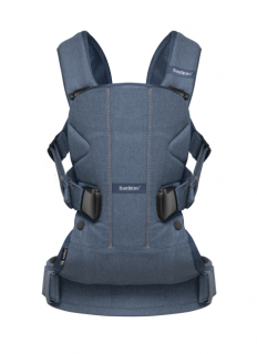 Ergonomické nosítko Babybjorn ONE Classic Denim/Midnight blue cotton mix