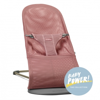 Lehátko Babybjorn Bouncer Bliss Vintage Rose Mesh kolekce Baby Power