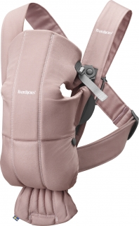 Babybjorn nosítko MINI Dusty Pink cotton