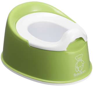 Nočník Smart Potty Spring Green - zelený, BabyBjörn