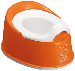 Nočník Smart Potty Orange - oranžový, BabyBjörn