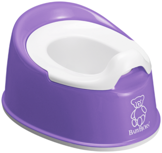 Nočník Smart Potty Purple - fialový, BabyBjörn