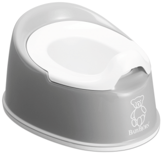Nočník Smart Potty Grey - šedý, BabyBjörn